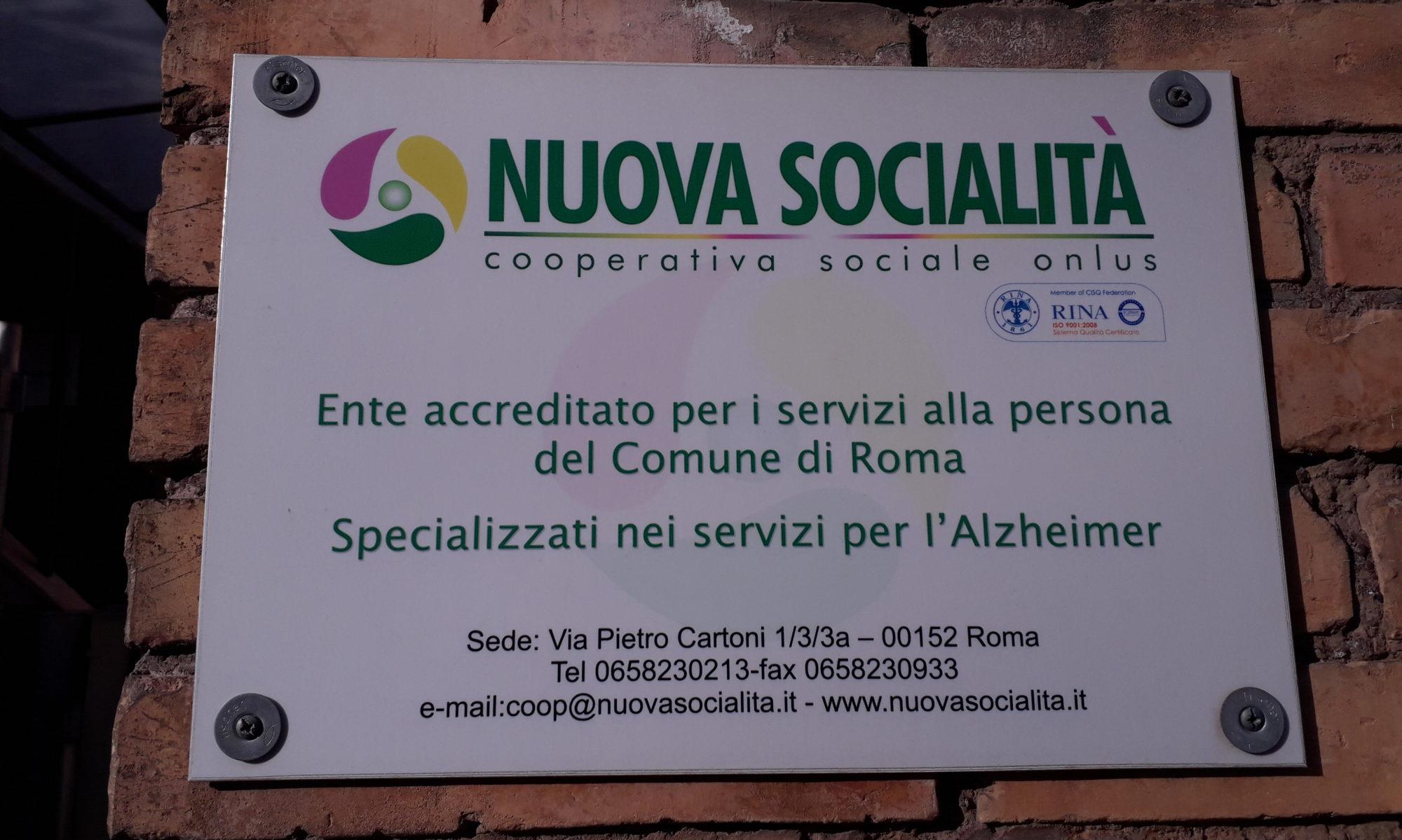 Nuova socialità